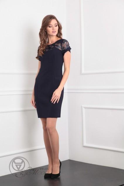 Платье 7155 темно-синий Tvin