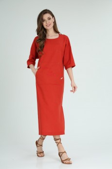 Платье 8129 терракот Tvin