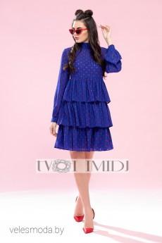 Платье 1201 синий Твой Имидж