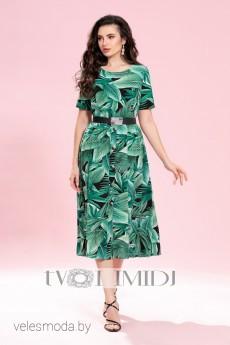Платье 1242 зеленый Твой Имидж