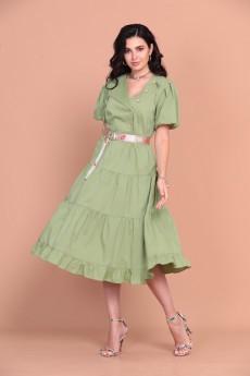 Платье 1379 лемонграсс Твой Имидж