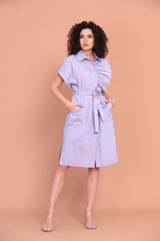 Платье 1389 лиловый Твой Имидж