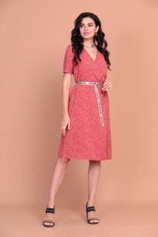 Платье 1391 красный Твой Имидж