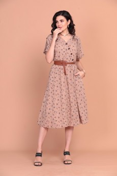 Платье 1399 карамельный Твой Имидж