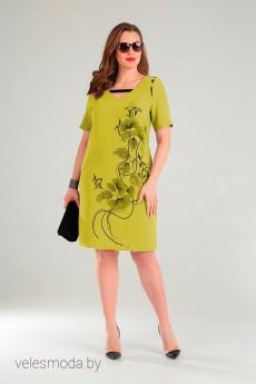 Платье 0859 лимон VIOLA STYLE