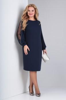 Платье 953 синий VIOLA STYLE