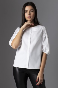 Блузка 632 белый VIZAVI TEKSTIL
