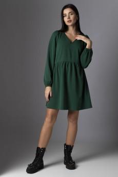 Платье 637 зеленый VIZAVI TEKSTIL