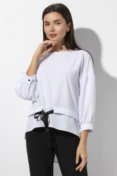 Блуза 640 белый VIZAVI TEKSTIL