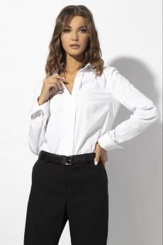 Блуза 661 белый VIZAVI TEKSTIL