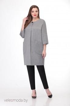 Пальто 1139 серый VOLNA