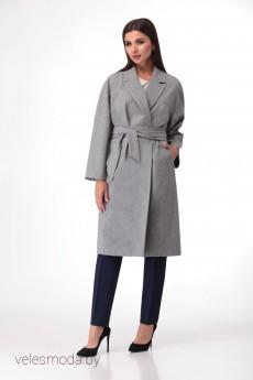 Пальто 1147 серый VOLNA
