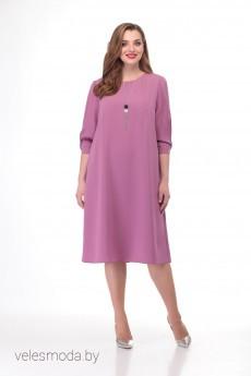 Платье 1155 розовый VOLNA