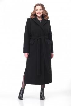 Пальто 1178 черный VOLNA