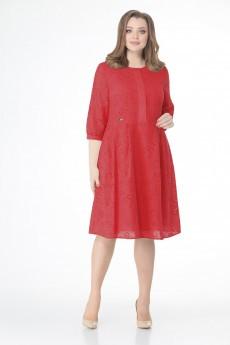 Платье 1195 красный VOLNA