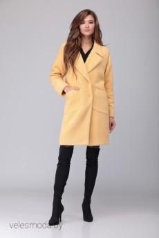 Пальто 2048 желтый VeritaModa