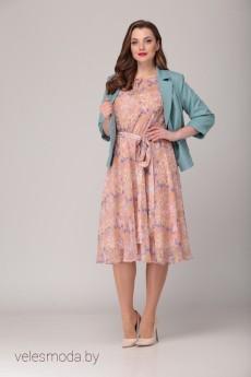 Костюм с платьем 2062 VeritaModa