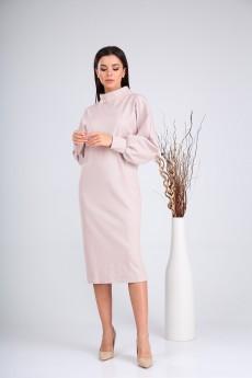 Платье 2136 розовый VeritaModa
