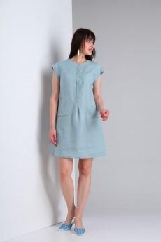 Платье 473 джинс Via-mod
