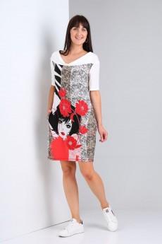 Платье 483 Via-mod