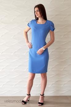 Платье 533 голубой Vilena