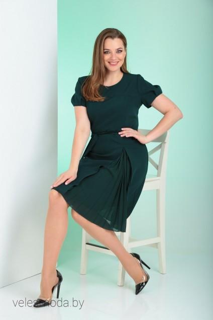 Платье 626 зеленый Vilena