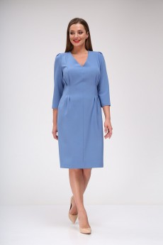Платье 658 голубой Vilena
