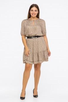 Платье  2-008 бежевый Vita