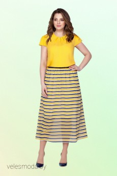 Костюм с юбкой 2107 Vitol Fashion