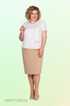 Костюм с юбкой 2108 Vitol Fashion