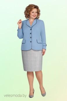 Костюм с юбкой 2118 Vitol Fashion