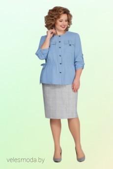 Костюм с юбкой 2119 Vitol Fashion