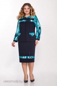 Костюм с юбкой 2130 Vitol Fashion