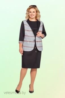 Костюм с платьем 810 Vitol Fashion