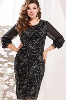 Платье 10913-1 черный Vittoria Queen