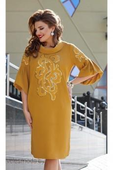 Платье 11593-2 горчица Vittoria Queen