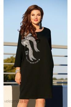 Платье 11613 черный Vittoria Queen