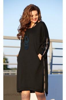 Платье 11843 черный Vittoria Queen