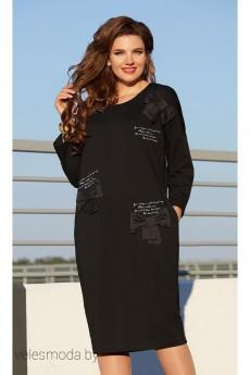 Платье 12163 черный Vittoria Queen