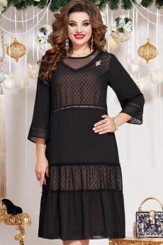 Платье 12343 черный Vittoria Queen