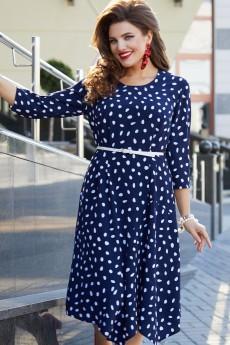 Платье 12393 синий Vittoria Queen