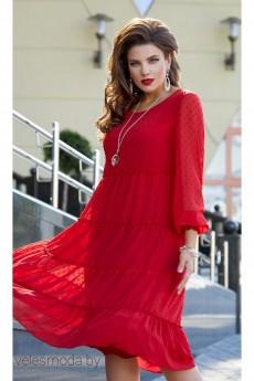 Платье 12423 красный Vittoria Queen