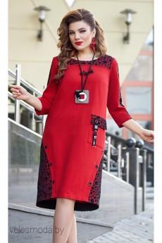Платье 13033 красный Vittoria Queen