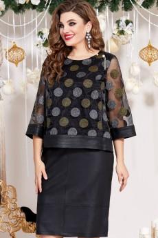 Платье 13053 черный Vittoria Queen