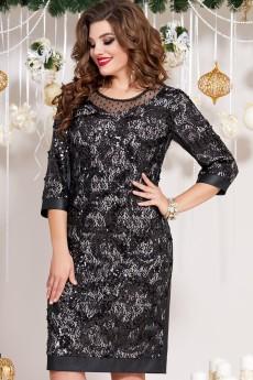 Платье 13193 черный Vittoria Queen