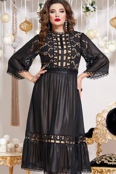 Платье 13213 черный  Vittoria Queen