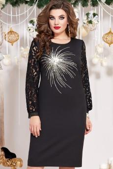 Платье 13223 черный Vittoria Queen