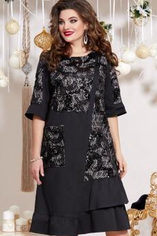 Платье 13353 черный Vittoria Queen