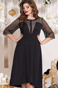 Платье 13453 черный Vittoria Queen