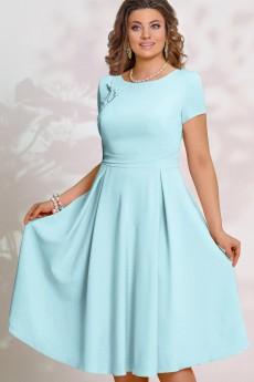 Платье 14003-4 голубой Vittoria Queen